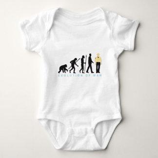 evolution copilot, sheriff, marshal, policeman baby bodysuit