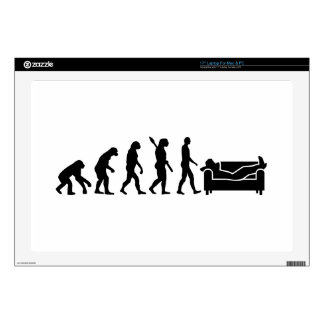 Evolution couch laptop skins