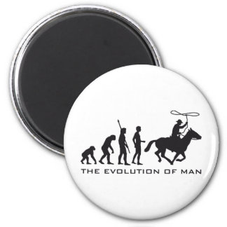 evolution cowboy magnet
