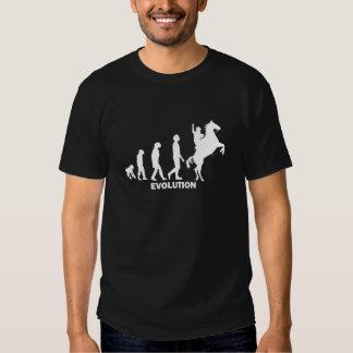 evolution cowboy tee shirt