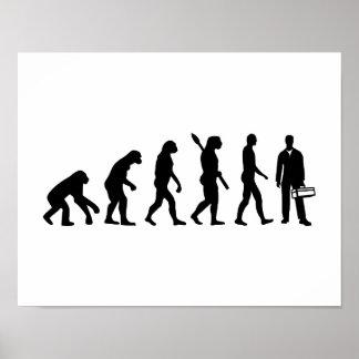 Evolution Craftsman Poster