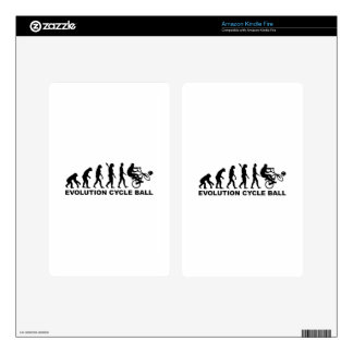 Evolution Cycle ball Kindle Fire Decals