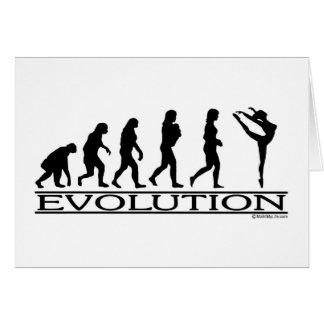 Evolution - Dance Greeting Cards