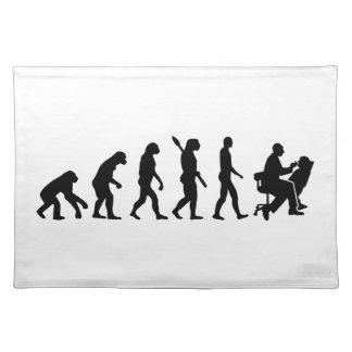 Evolution Dentist Cloth Place Mat