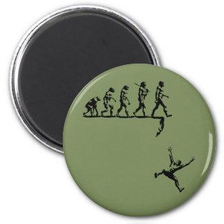 Evolution & Destiny 2 Inch Round Magnet