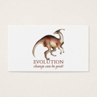 Evolution Dinosaur profile card