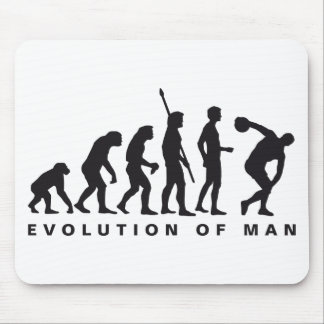 evolution discus more thrower mousepads