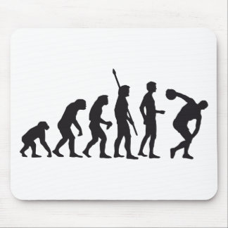 evolution discus more thrower mouse pads