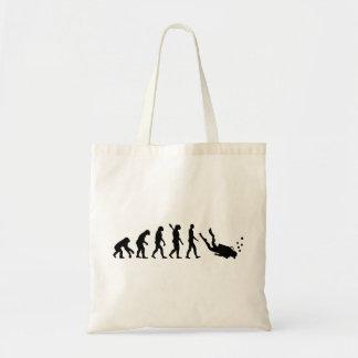 Evolution Diving Budget Tote Bag
