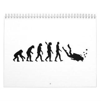 Evolution Diving Wall Calendars