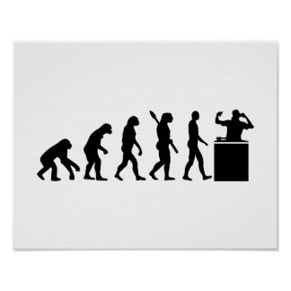Evolution DJ Poster