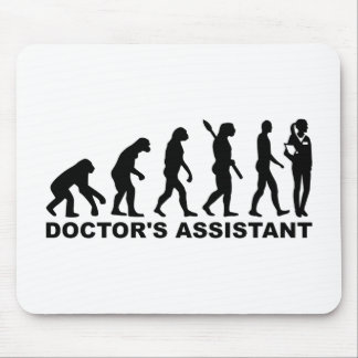 Evolution doctor's assistant mouse pad
