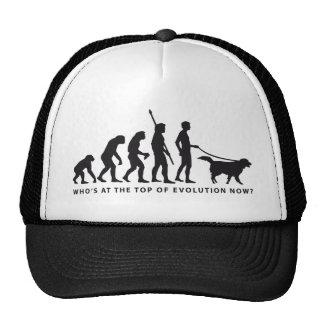 evolution dog hats