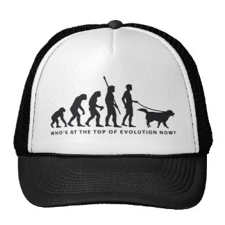 evolution dog trucker hat