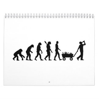 Evolution drinking calendar