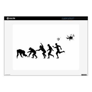 """Evolution Droned 15"""" Laptop Skins"""