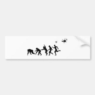 Evolution Droned Bumper Sticker