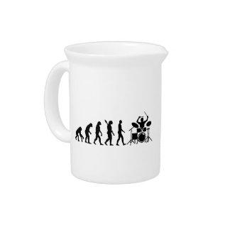 Evolution drummer drink pitcher