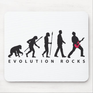 evolution e-guitar rock mouse pad