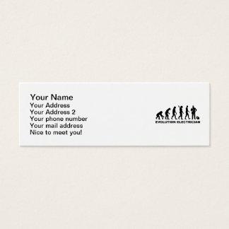 Evolution Electrician Mini Business Card