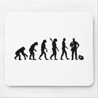 Evolution Electrician Mouse Pad