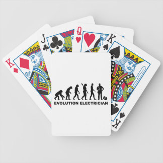 Evolution Electrician Playing Cards