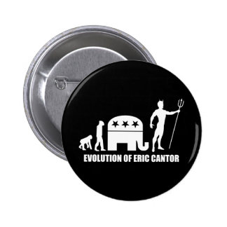 evolution Eric Cantor Button