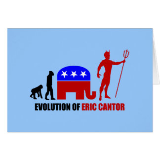 evolution Eric Cantor Card