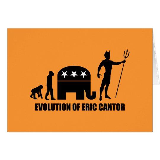 evolution Eric Cantor Card