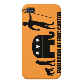 evolution Eric Cantor Cases For iPhone 4