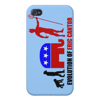 evolution Eric Cantor iPhone 4 Covers