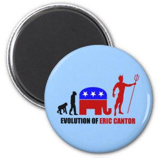 evolution Eric Cantor Magnet