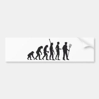 evolution far MER Bumper Sticker
