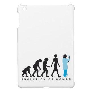 evolution female biologist, chemist, physicist case for the iPad mini