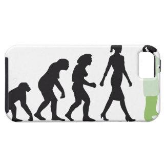 evolution female biologist, chemist, physicist iPhone SE/5/5s case
