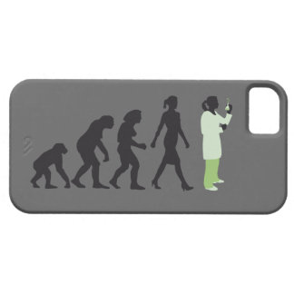 evolution female biologist, chemist, physicist iPhone SE/5/5s case