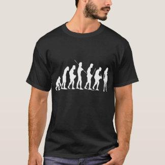 Evolution Female Drk T-Shirt