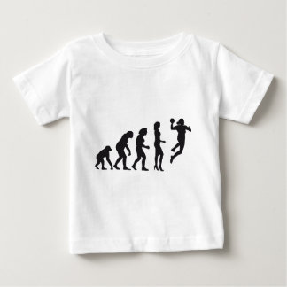 evolution female hand ball baby T-Shirt