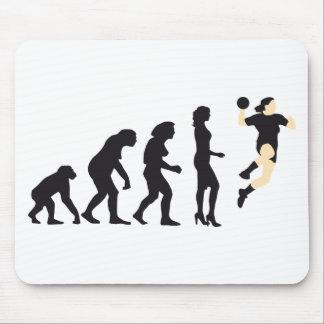 evolution female handball mousepads