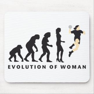 evolution female handball tapetes de ratones