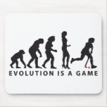 evolution female hockey mouse pad