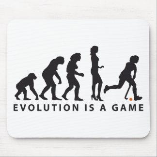 evolution female hockey mouse pad