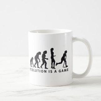 evolution female hockey classic white coffee mug