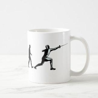 Evolution Fencer Coffee Mug