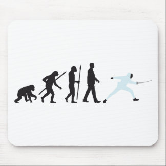 evolution fencing mouse pads