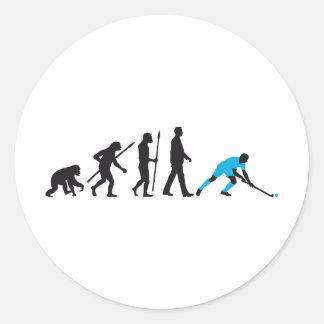 evolution fieldhockey more player classic round sticker