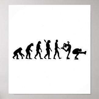 Evolution Figure skating couple Poster