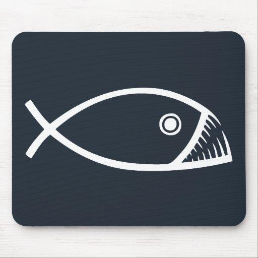 Evolution Fish Mouse Pad