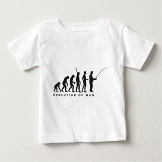 evolution fishing baby T-Shirt