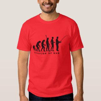 evolution fishing t shirt